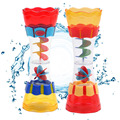 1 pc crianças bebê natação banho brinquedo do banho de plástico xícara de água praia play toy