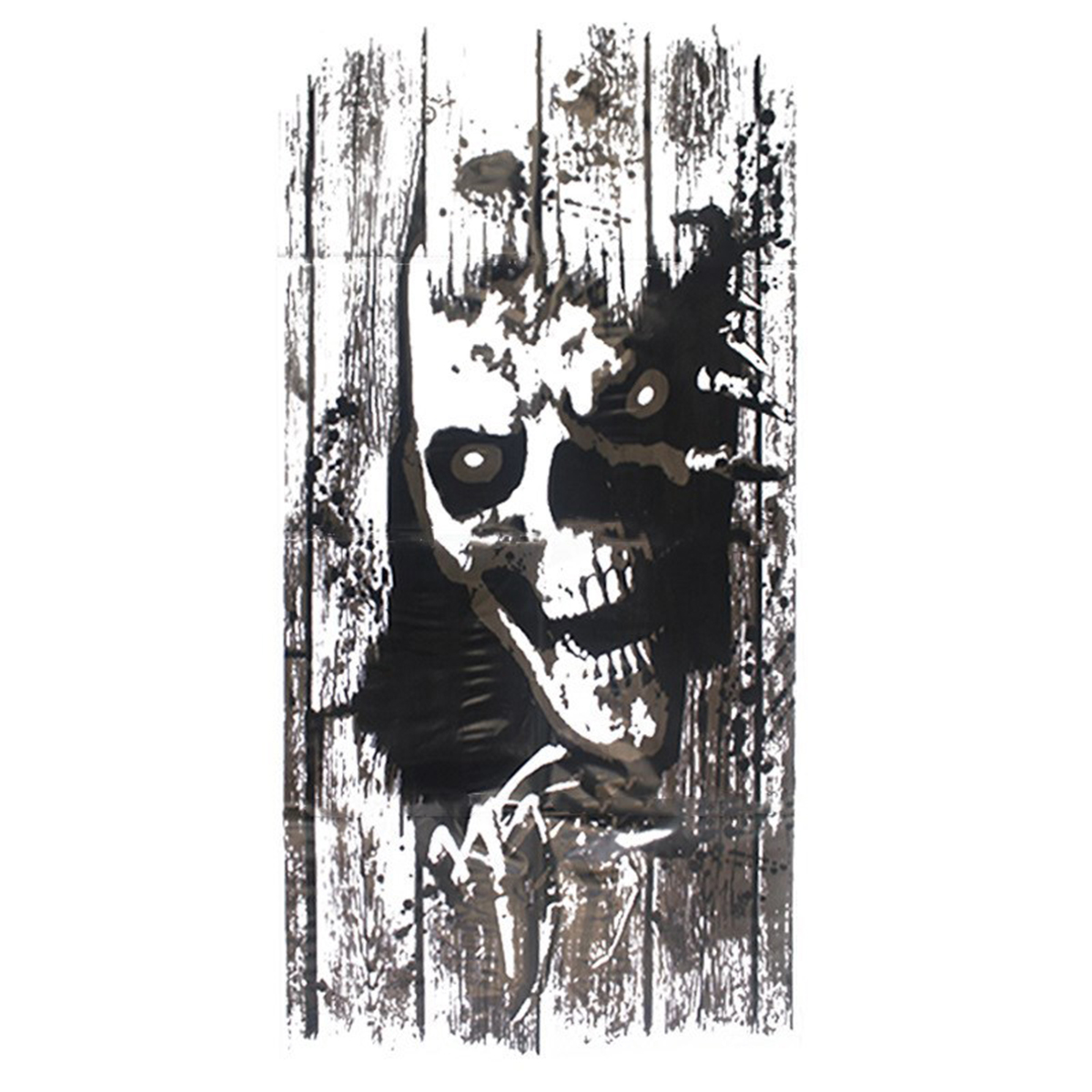 Halloween Wall Sticker Ghost Removable Horror Mural ...