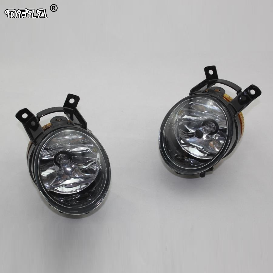 For Skoda Octavia A6 RS 2009 2010 2011 2012 2013 Fabia RS Roomster Scount 2011 2012 2013 2014 2015 Halogen Fog Lamp Fog light наклейки skoda fabia octavia spaceback roomster