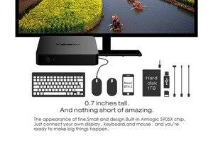 Image 5 - Mini T95M M8S Pro أندرويد TV BOX1G/2G/8G Amlogic S905 رباعية النواة Cortex A53 أندرويد 6.0 دعم HDMI 2.4GHZ واي فاي تدفق وسائل الإعلام
