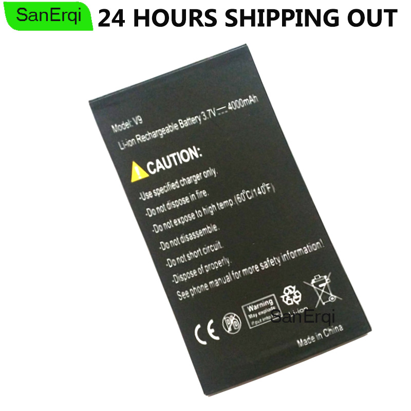 For Discovery V9 Battery Original 4000mAh Mobile Phone Replacement