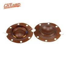 שידור 51 ליבה GHXAMP טרבל סליל קול KSV 16OHM 50 W תיקוני סליל קול רמקול הטוויטר טבעת מעורר צורה קעורה 2 יחידות