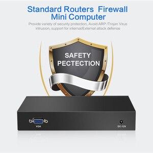 Image 3 - Mini PC Intel Celeron N2830 Firewall Router 4 LAN Intel i211AT Gigabit Ethernet RJ45 VGA 2xUSB Windows Server Run Pfsense