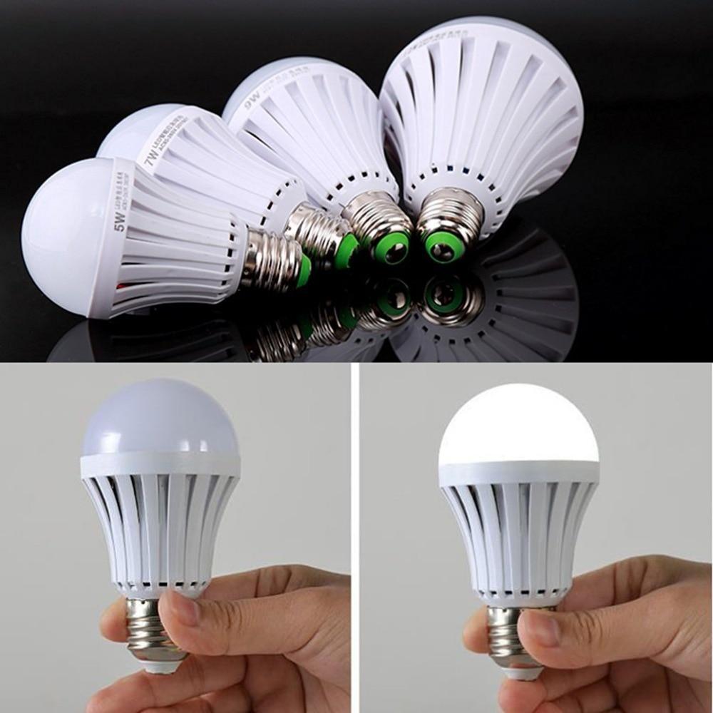 Rechargeable Emergency LED Light Bulb E27 Lamp Magic light ...