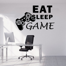 Vinyl Game Wall Stickers Wall Decor For Game Room Bedroom Decoration Wall Decals Removable Sticker Murals wall-stickers video game design removable wall stickers for kids room