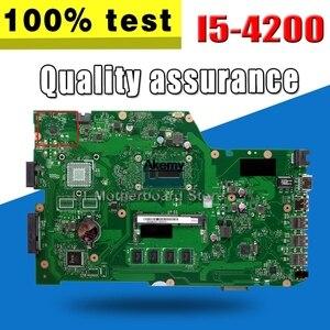 X751LA płyta główna I5-4200 4G pamięci dla For Asus X751LA X751L X751LD X751LA laptopa płyty głównej X751LA płyty głównej