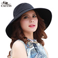 The summer sun hat hat female Korean women along the anti UV sunscreen sun hat cap folding bike Beach Hat