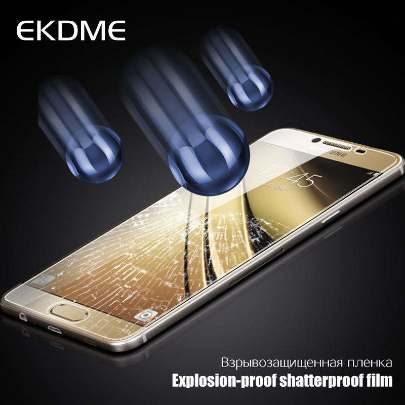 EKDME Protective Film for Samsung Galaxy J3 J5 J7 Tempered Glass For Galaxy S4 S3 mini J1 S6 G9200 S5 Neo 2016 Screen Protector