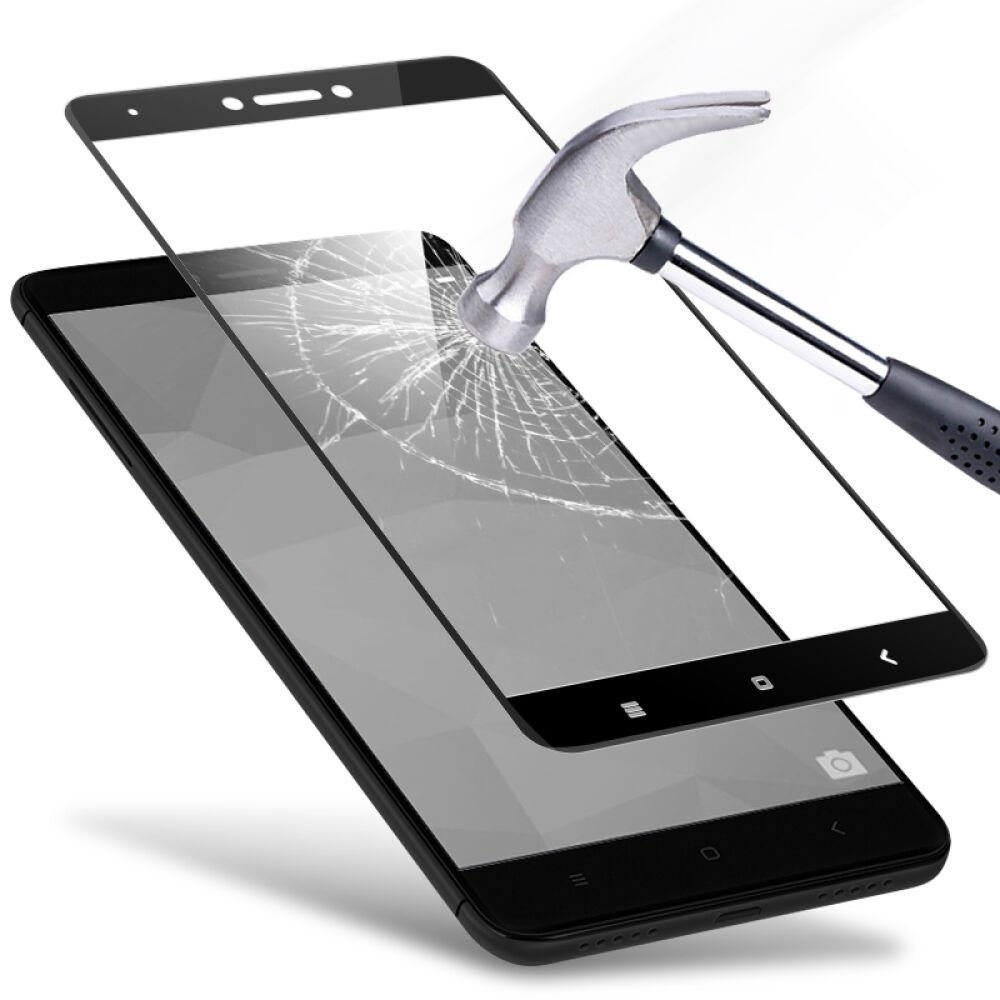 9H Full Cover 3D Tempered Glass For Xiaomi Redmi Note 4 Pro 4X 5A 5 Plus Screen Protector Explosion-Proof Sklo(China)