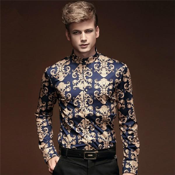 New Mens Fashion barroco BAROCCO style Royal Prince Luxury