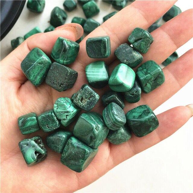 50g Natural raro cubo de cristal de malaquita piedra rocas espécimen de piedra preciosa decoración Natural de cristales de cuarzo