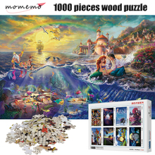 MOMEMO The Mermaid Figure Puzzle 1000 Pieces Cartoon Anime Jigsaw for Adult Childrens Educational Toys Game