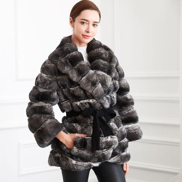 Luxus Winter Pelz Mäntel Frauen 100 Echtpelz Russland Für w6vSqxvE