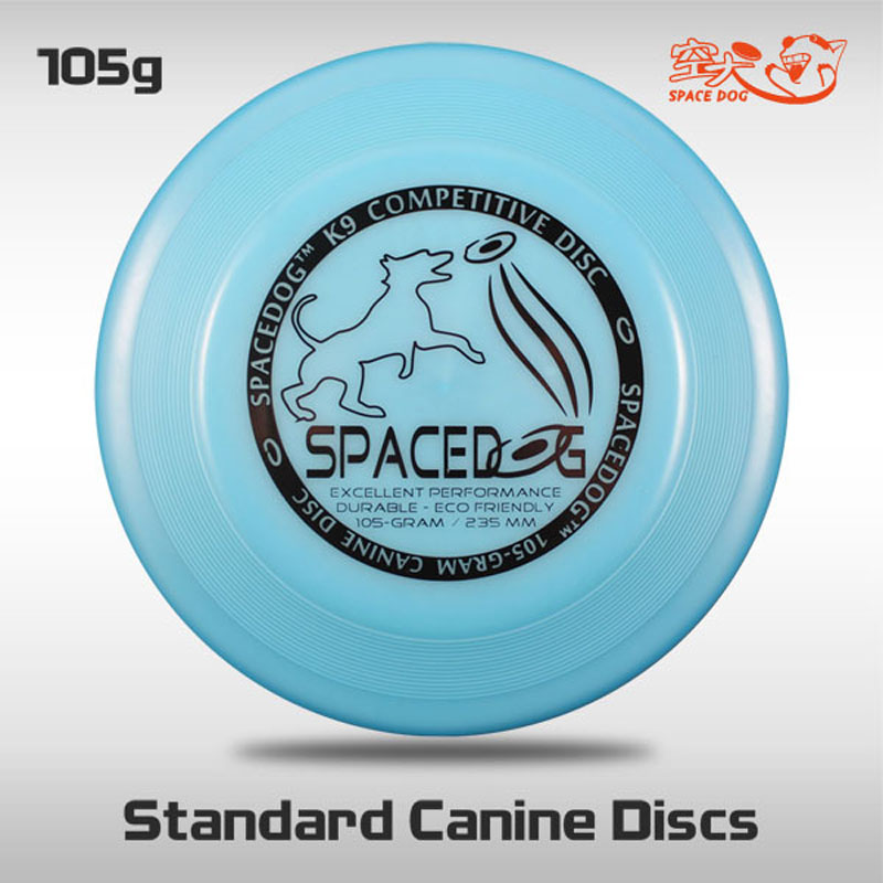 Free Shipping SpaceDog K9 Standard Canine Discs Outdoor Fun and Sports Professional Disc Dog Flying Toys