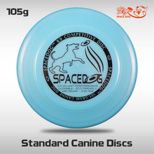 Free Shipping SpaceDog K9 Standard Canine Discs Outdoor Fun and Sports Professional Disc Dog Frisbee Flying Toys