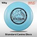 Frete Grátis K9 SpaceDog Canino Padrão Discos de Diversão Ao Ar Livre e Esportes de Disco Profissional Do Cão Do Frisbee Voando Brinquedos