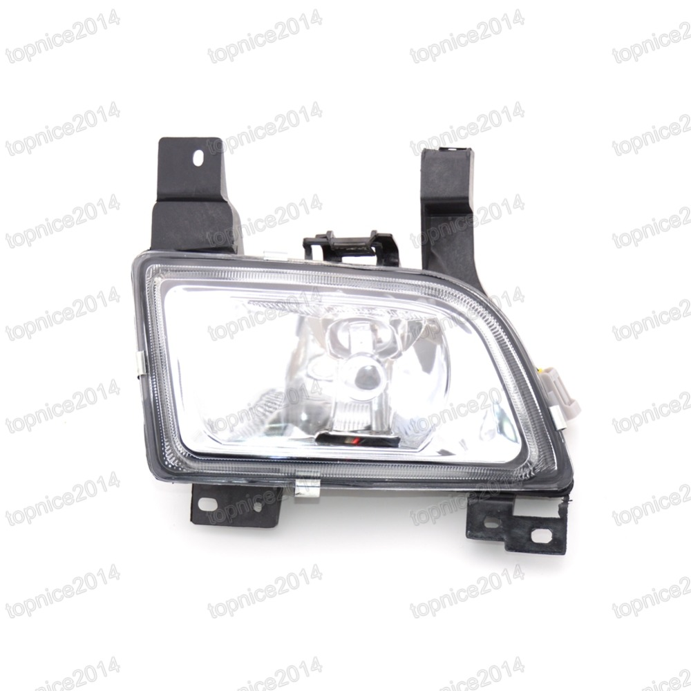 1Pcs Clear Lens Front Bumper Driving Fog Light Fog Lamp with Bulb 19 5269 A0 Right