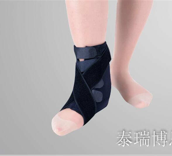 Free Shipping Breathable Medical Ankle Support Pressurized Flanchard Protection Dykeheel Orthotast Strong Ankle Orthotics Assist replex kneepad flanchard cuish