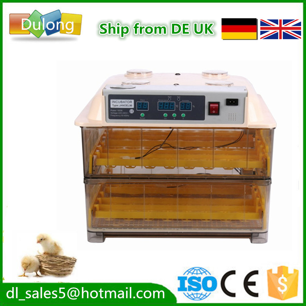 Mini  Cheap Egg Incubator Automatic  96 eggs hatchery brooder  hatching machine for  chicken duck  quail bird free ship to au new sale home automatic egg incubator 56 eggs chicken incubator brooder quail eggs incubators