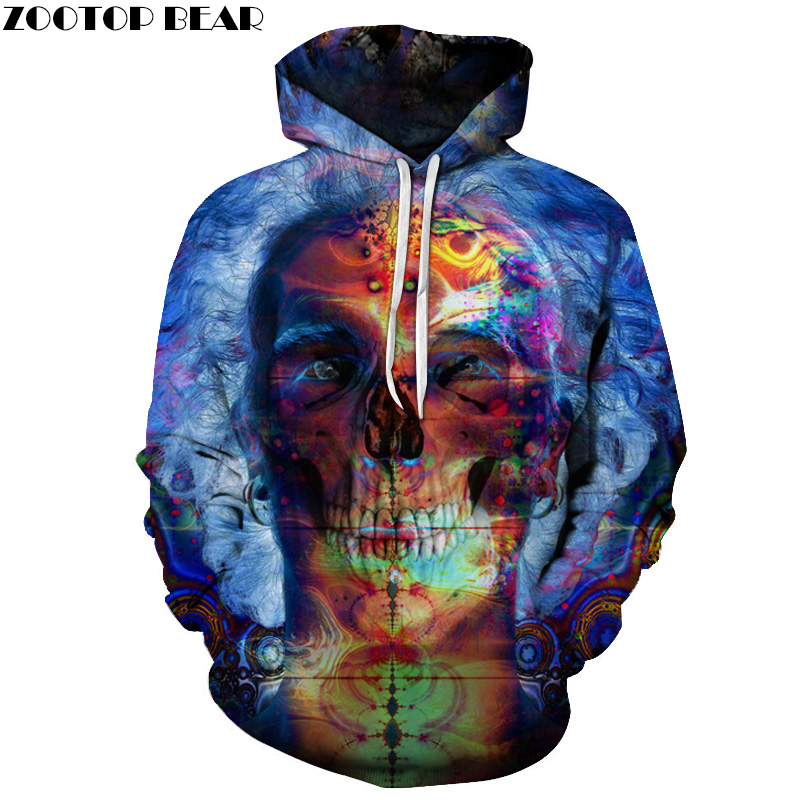 Inner Demons Printed 3D Hoodies Men Sweatshirts Brand Hooded Pullover Fashion Tracksuits Quality Boy Jackets 6XL Autumn Hoody