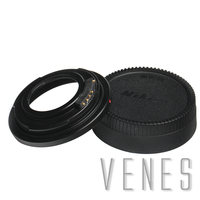 Venes M42 For Nikon, AF Confirm Mount Adapter Ring For M42 Lens To Suit for Nikon F Mount Camera with Glass D5300 D610 D7100