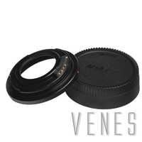 Venes M42-For Nikon, AF Bestätigen Mount Adapter Ring Für M42 Objektiv für Nikon F Mount Kamera mit Glas D5300 D610 D7100