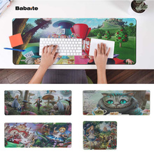 Babaite Hot Sales Alice in Vonderland  Natural Rubber Gaming mousepad Desk Mat Free Shipping Large Mouse Pad Keyboards