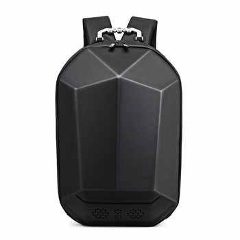 Fashion Man Backpack 15.6 Inch Laptop USB Charging Bluetooth Speaker Male Bags Recharging Multi-layer Space Travel Anti-thief