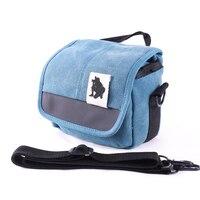 Shoulder Camera Bag Case Canvas Bags For Canon 450D 500D 600D 550D M10 M5 M6 M3