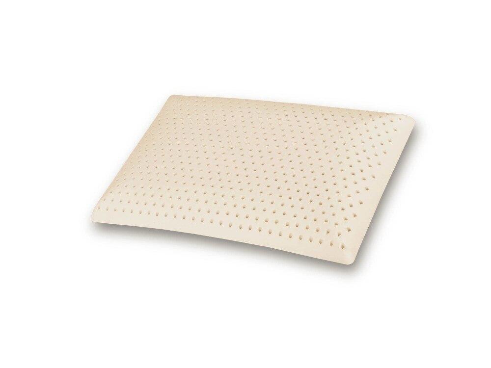 Королева/стандартный размер натуральный латекс подушка из пенопласта с внутренней крышкой из полиэстера и бамбуковой крышкой и на молнии в сумке из ПВХ