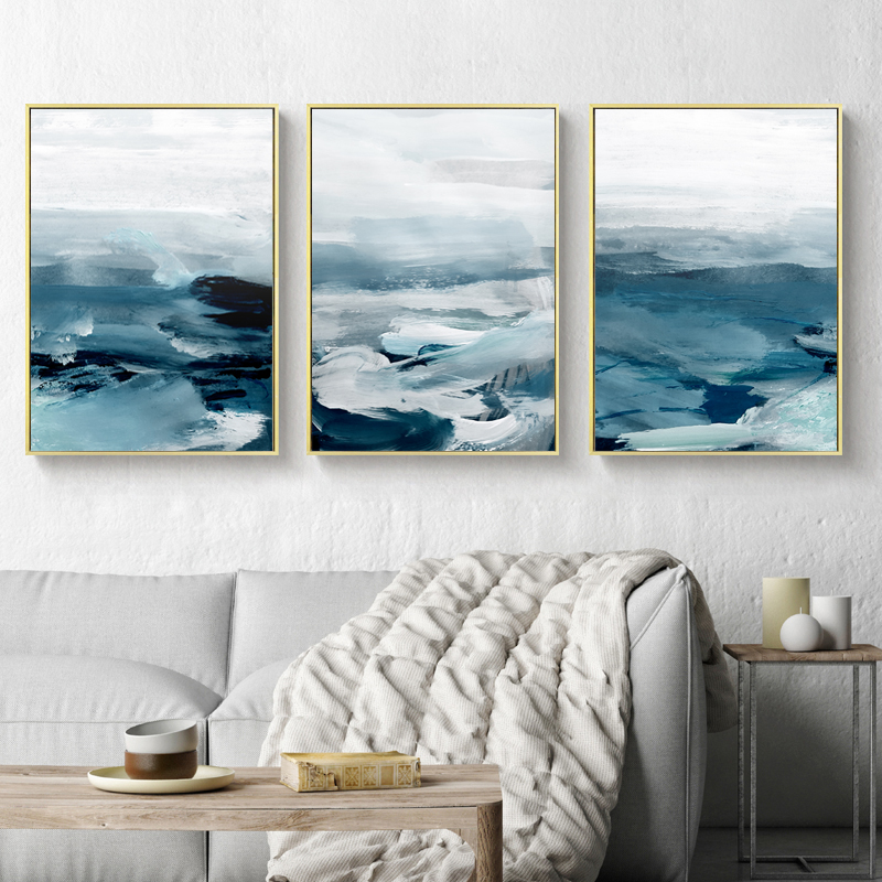Abstract Ocean Landscape Wall Canvas 28