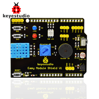 Free shipping! keyestudio Multi-purpose Shield V1 for arduino starter