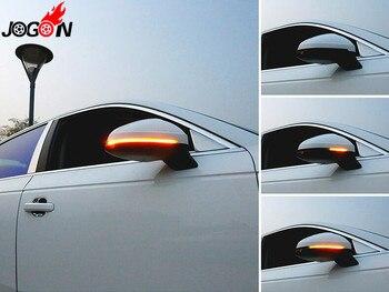 อุปกรณ์เสริมสำหรับรถยนต์สำหรับ AUDI A4 S4 RS4 B9 & A5 S5 RS5 B9 2016 + น้ำแบบไดนามิกไหล