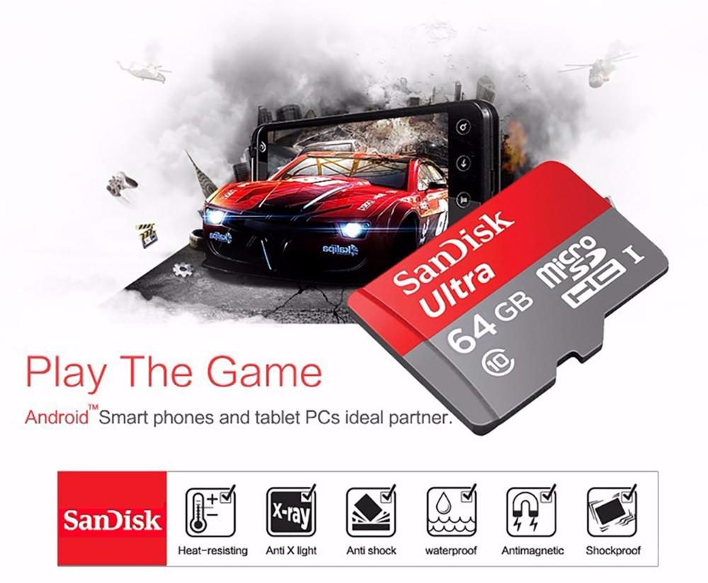 Sandisk Ultra 128gb 64gb 16gb 200gb Memory Cards In Micro Sd Card Dual Usb Drive M30 Otg Flash New Aeproductgetsubject