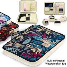 Trung Quốc Đa năng kiểu dáng A4 túi Tài Liệu Thêu Oxford Vải túi Cho Máy Tính Xách Tay Bút iPad Máy Tính