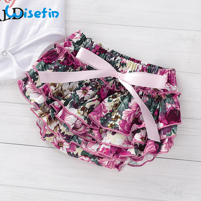 Newborn baby girl clothes carters baby girl clothing sets 2019 summer floral baby girl romper with lace skirt bebes headbandsD40 4