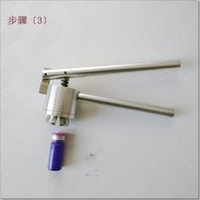 Ручной щипцы для крышек 20 мм машина запечатывания стеклянных