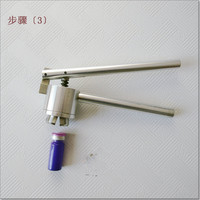 Manual Cap Crimper, 20mm Glass Bottle Sealing Machine, Manual Stainless Steel Vial Crimpers, Hand Sealing Tool