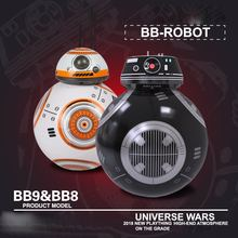 Upgrade Model Ball Star Wars 7 The Last Jedi RC BB-9E Robot BB-8 Droid BB8 Intelligent Robot 2.4G Remote Control Toys RC Cars(China)