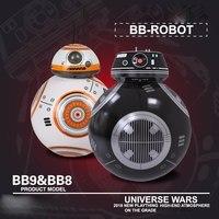 Upgrade Model Ball Star Wars 7 The Last Jedi RC BB 9E Robot BB 8 Droid BB8 Intelligent Robot 2.4G Remote Control Toys RC Cars