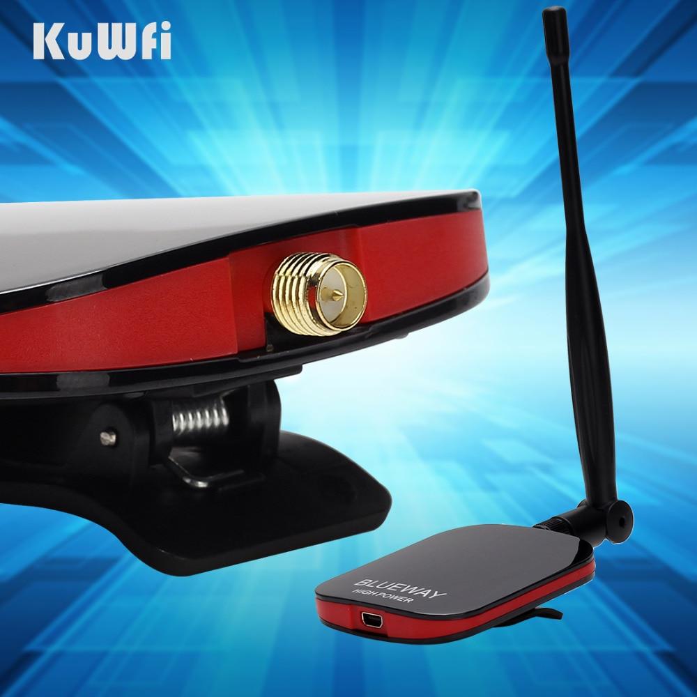 150 Mbps 2000WM adaptador Wifi inalámbrico con Ralink3070L 5dbi antena WEP de ordenador en las señales WiFi sin paquete de caja