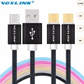 VOXLINK USB Type-C Cable High Speed USB C Male to Male Data Sync Charge Typec usb cable for Macbook Lumia 950 OnePlus 2 LG G5