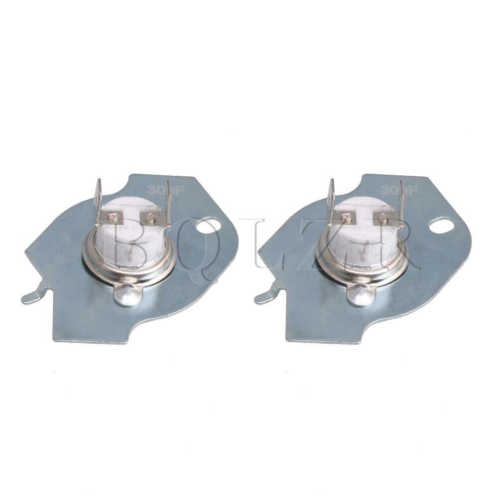 Heimwerker Bqlzr 2 Stücke Radfahren Thermostat & Thermische Sicherung Wp3977393 Für Whirlpool Trockner Bequem Und Einfach Zu Tragen