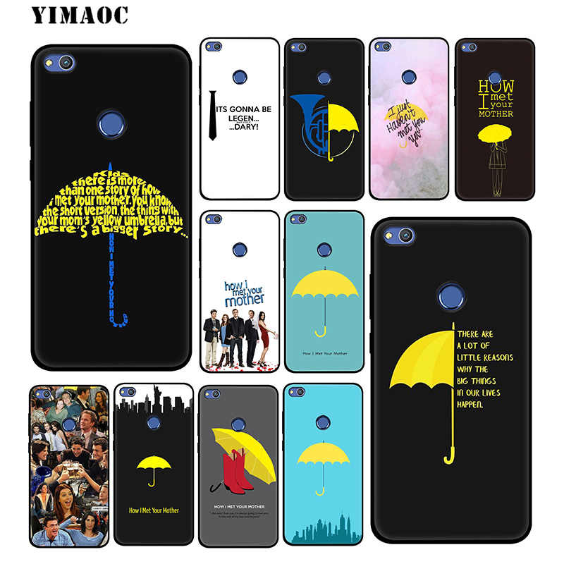 How I Met Your Mother Barney TPU Cover For Huawei Y3 Y5 II