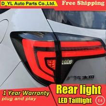 Автомобильный Стайлинг динамический поворотник задние фонари для Honda hr-v HR-V задний фонарь светодиодный задний фонарь привод+ тормоз+ сигнал