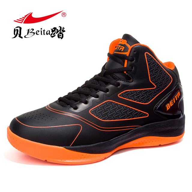 026dbf46eca7 Beita Men s high top Basketball Shoes chaussures Breathable anti-skid  Sneakers Male Outdoor Sport protect ankle Basketball boots