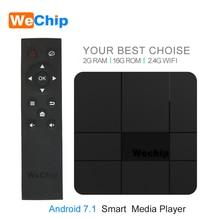 Wechip V8 Smart Android 7.1 TV BOX Amlogic S905W 2GB 16GB 2.