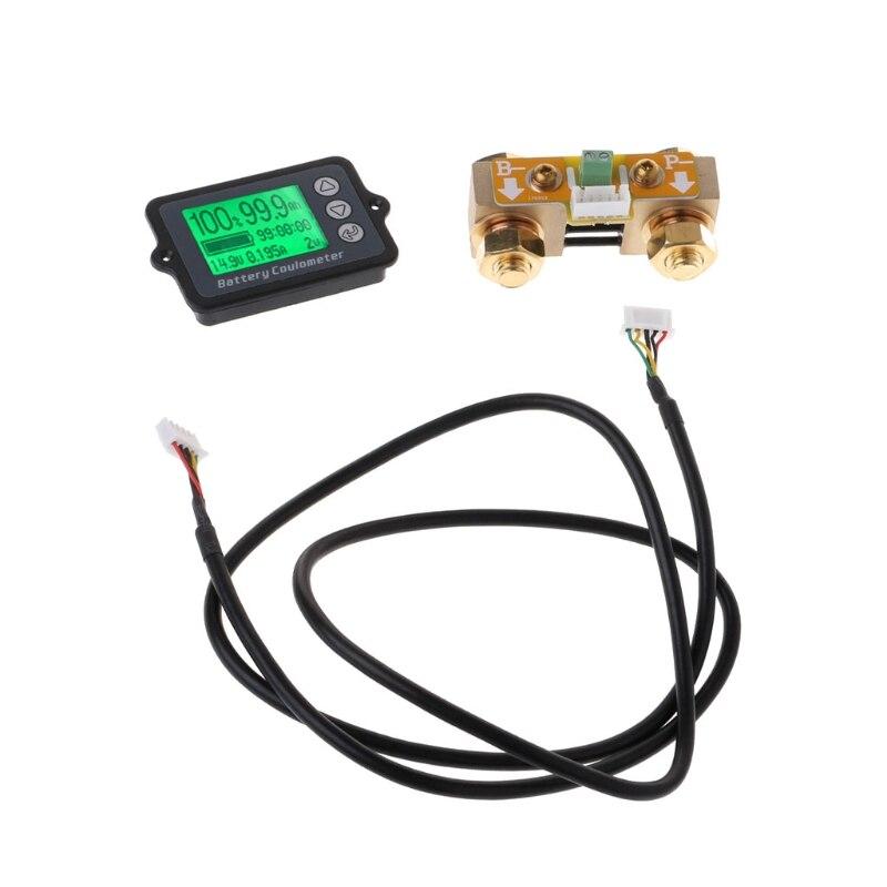 Testeur de batterie de précision OOTDTY 80 V 350A TK15 pour coulomètre LCD de compteur de coulomètre LiFePO