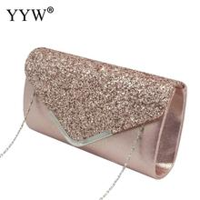 Glitter womens handbag  purse Evening Party Clutch bag Elegant Handbags Fashion Sequined Ladies envelope dress glitter clutch
