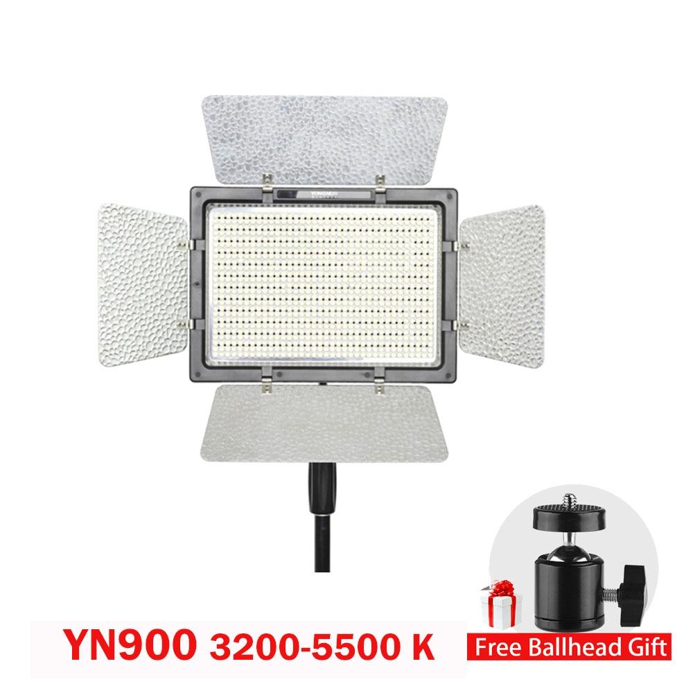 цена на Yongnuo YN900 CRI 95 3200-5500K Wireless Color LED Beam Video Light Control By Phone App for Wedding Photography Studio